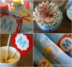 52mantels.com ice cream birthday party [1]